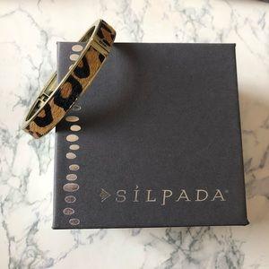Silpada Go Wild Hinge Bangle Bracelet